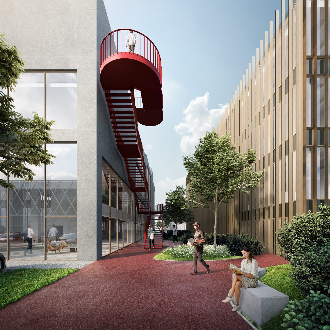 Creative hub Westgate Groot-Bijgaarden Futurn