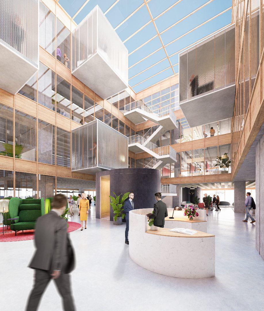 Corporate district Westgate Groot-Bijgaarden Futurn