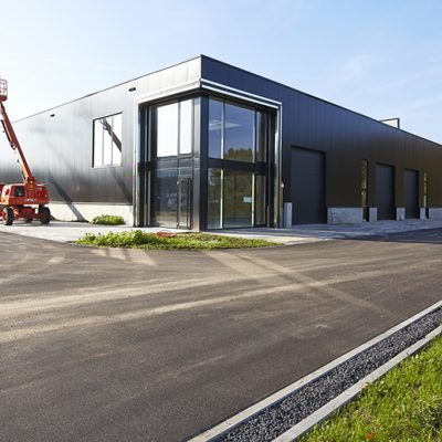 Start Cluster C & showrooms voorzijde